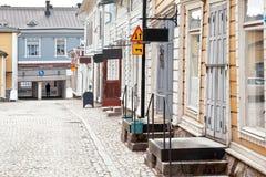 Stadt von Porvoo Lizenzfreie Stockbilder