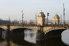 Stadt von Prag stockfotografie