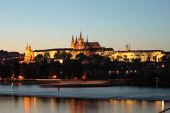 Stadt von Prag Stockbild