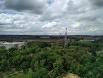 Stadt von Prag Stockfoto