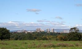 Stadt von Preston, Lancashire. Stockbilder