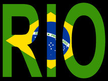 Stadt von Rio de Janerio stock abbildung