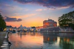 Stadt von Rom stockfotografie