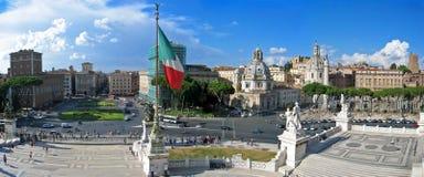 Stadt von Rom Stockfoto