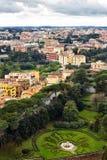Stadt von Rom Italien Stockfotografie