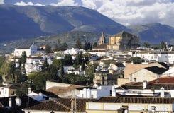 Stadt von Ronda Spanien lizenzfreie stockbilder