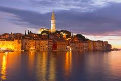 Stadt von Rovinj (Kroatien) Lizenzfreie Stockfotos