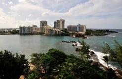 Stadt von San Juan Stockfotos
