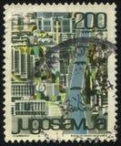 Stadt von Sarajevo Lizenzfreies Stockfoto
