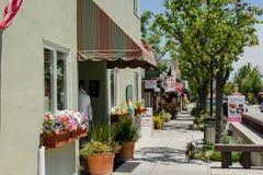 Stadt von Saratoga, Kalifornien Stockfotografie