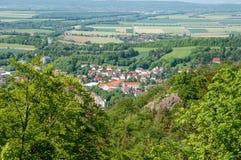 Stadt von schlechtem Harzburg in Deutschland Stockfoto