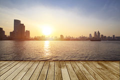 Stadt von Shanghai, China Lizenzfreies Stockbild