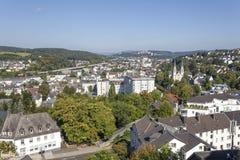 Stadt von Siegen, Deutschland Lizenzfreie Stockbilder