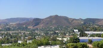 Stadt von Simi Valley, CA Stockbild