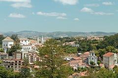 Stadt von Sintra, Portugal Stockfotos