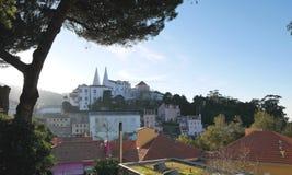Stadt von Sintra in Portugal Stockbild