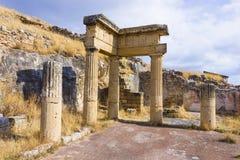 Stadt von Solunto, Palermo, Italien Lizenzfreie Stockfotos