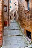 Stadt von Sorano lizenzfreie stockfotos