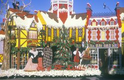 Stadt von St. Louis Float in Rose Bowl Parade, Pasadena, Kalifornien lizenzfreies stockfoto