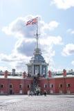 Stadt von St. Pererburge Die Paläste und die Architektur der Stadt Lizenzfreies Stockbild