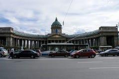 Stadt von St. Pererburge Die Paläste und die Architektur der Stadt Stockbilder