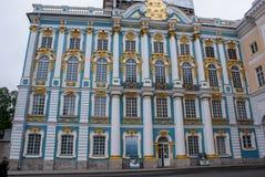 Stadt von St. Pererburge Die Paläste und die Architektur der Stadt Stockfoto