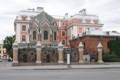 Stadt von St. Pererburge Die Paläste und die Architektur der Stadt Gebäude des historischen Stadtteiles Stockfotografie
