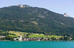 Stadt von St.Wolfgang Stockbild