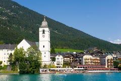 Stadt von St.Wolfgang Lizenzfreies Stockbild