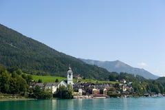 Stadt von Str. Wolfgang Lizenzfreies Stockfoto