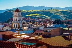 Stadt von Sucre stockfoto