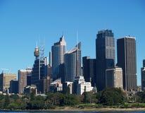Stadt von Sydney stockfotos