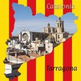 Stadt von Tarragona Lizenzfreie Stockfotografie