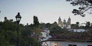 Stadt von Tiradentes Stockfotografie