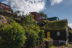 Stadt von Torshavn Lizenzfreie Stockfotos
