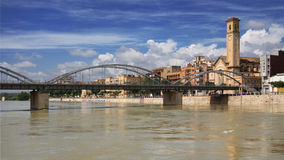 Stadt von Tortosa stockbild