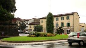 Stadt von Toskana stock video