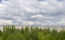 Stadt von Ukraine Stockfoto