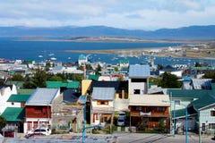 Stadt von Ushuaia Lizenzfreies Stockfoto