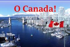 Stadt von Vancouver Stockfotografie