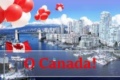 Stadt von Vancouver stockfotos