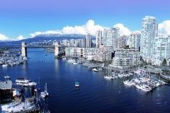 Stadt von Vancouver lizenzfreies stockfoto
