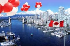 Stadt von Vancouver stockbild