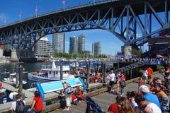 Stadt von Vancouver, Kanada Stockfotografie
