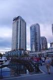 Stadt von Vancouver, Kanada Lizenzfreie Stockfotografie