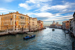 Stadt von Venedig Stockbild