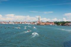 Stadt von Venedig, Italien Lizenzfreies Stockbild