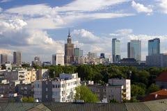 Stadt von Warschau Stockfoto