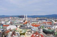Stadt von Wien Stockbilder
