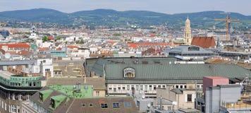 Stadt von Wien Stockbild